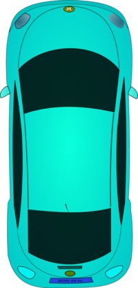Car Clipart Top View Png.