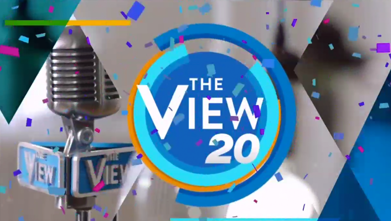 The View\' smacks on \'20\' to its logo for new season.
