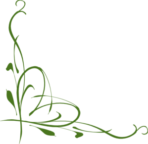 Green Vines Clip Art.