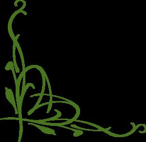 Green Vines Clip Art.