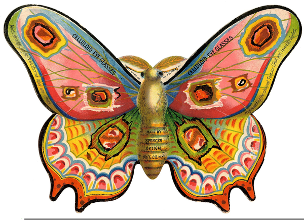 The Vintage Moth Free Clipart.