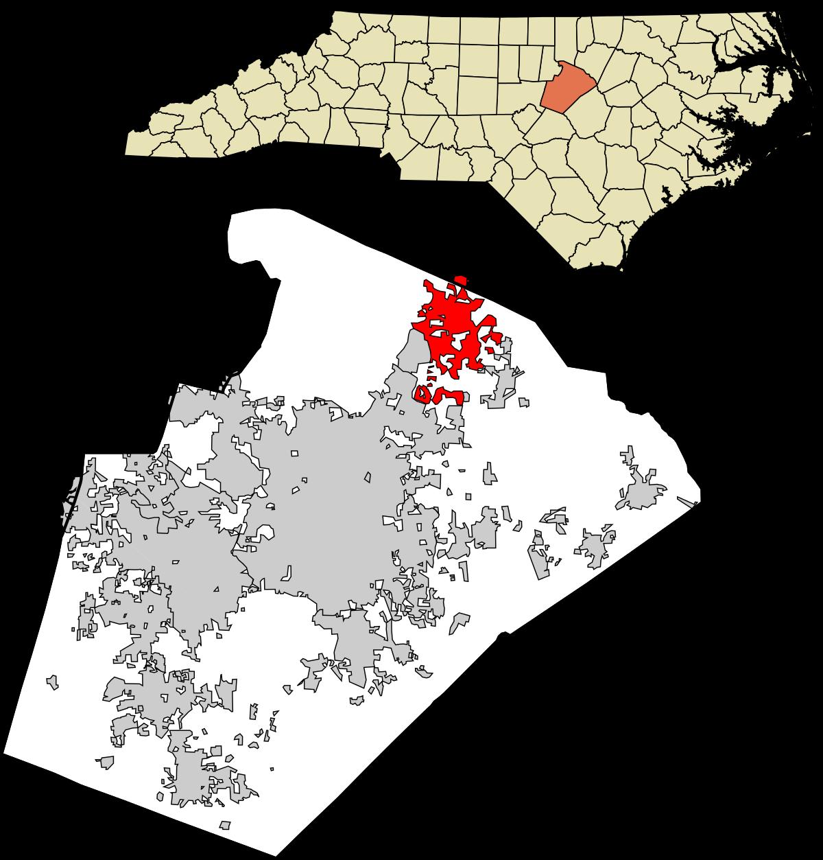 Wake Forest, North Carolina.
