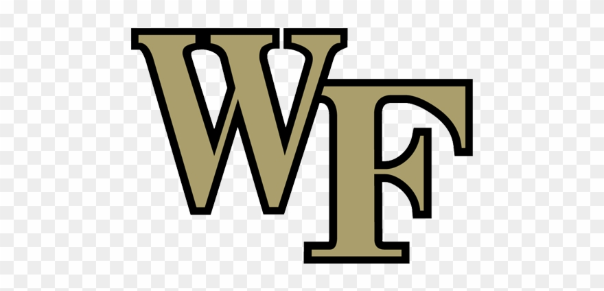 Wake Forest Logo Png Vector Freeuse Stock.