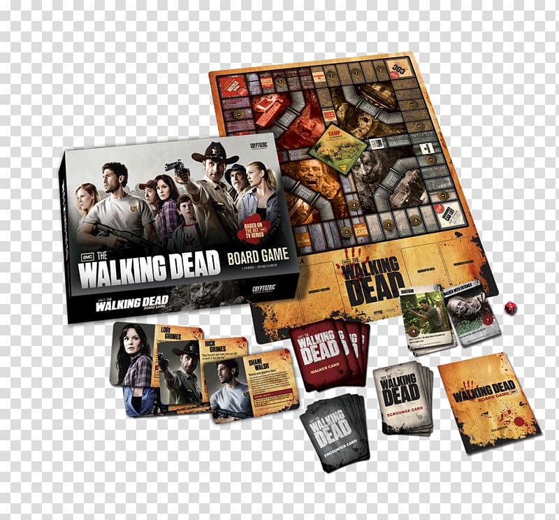 Monopoly Cryptozoic Entertainment The Walking Dead Board.