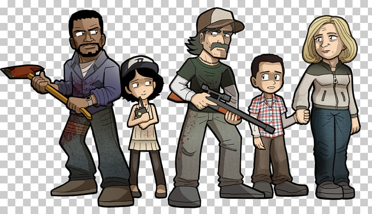The Walking Dead: A New Frontier Clementine Lee Everett The.