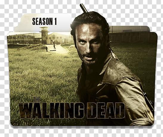 The Walking Dead Serie Folders, The Walking Dead Season.