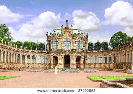 Dresden Zwinger Stock Photos, Royalty.