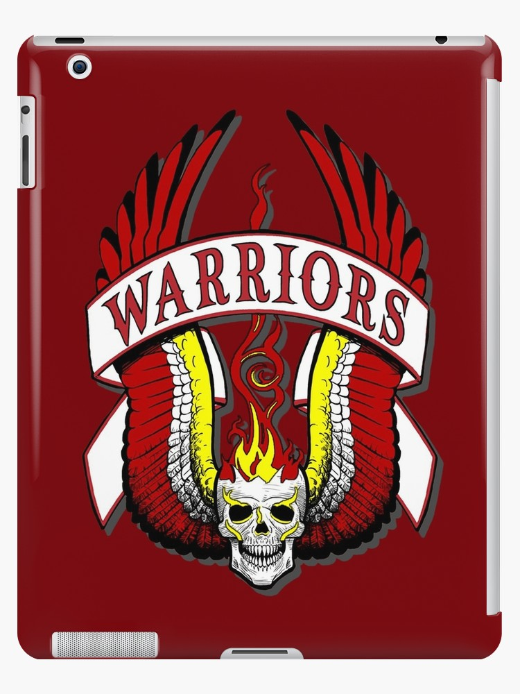 \'The Warriors movie logo\' iPad Case/Skin by RockabillyAnt.