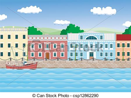 Waterfront clipart #5