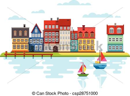 Clip Art Waterfront.