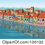 Waterfront clipart #6