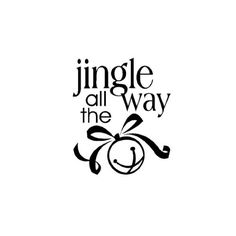 Jingle All The Way Clipart.