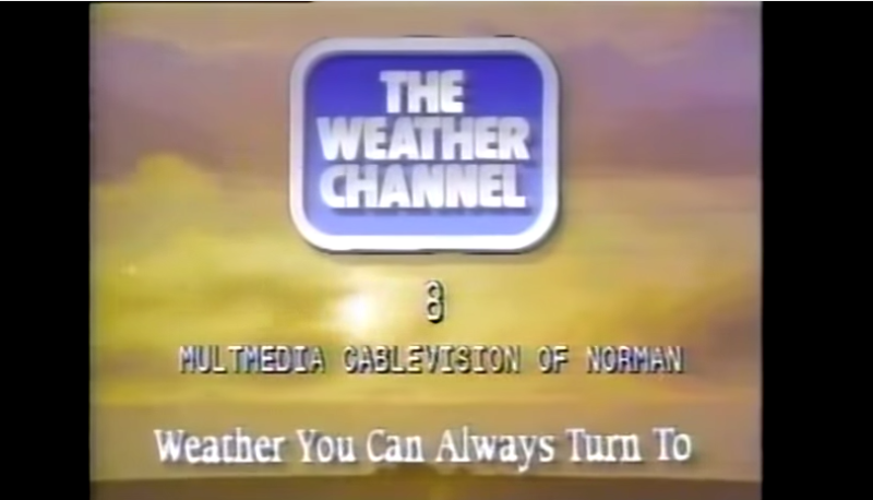 The Weather Channel in the 1990s Was the Pinnacle of.