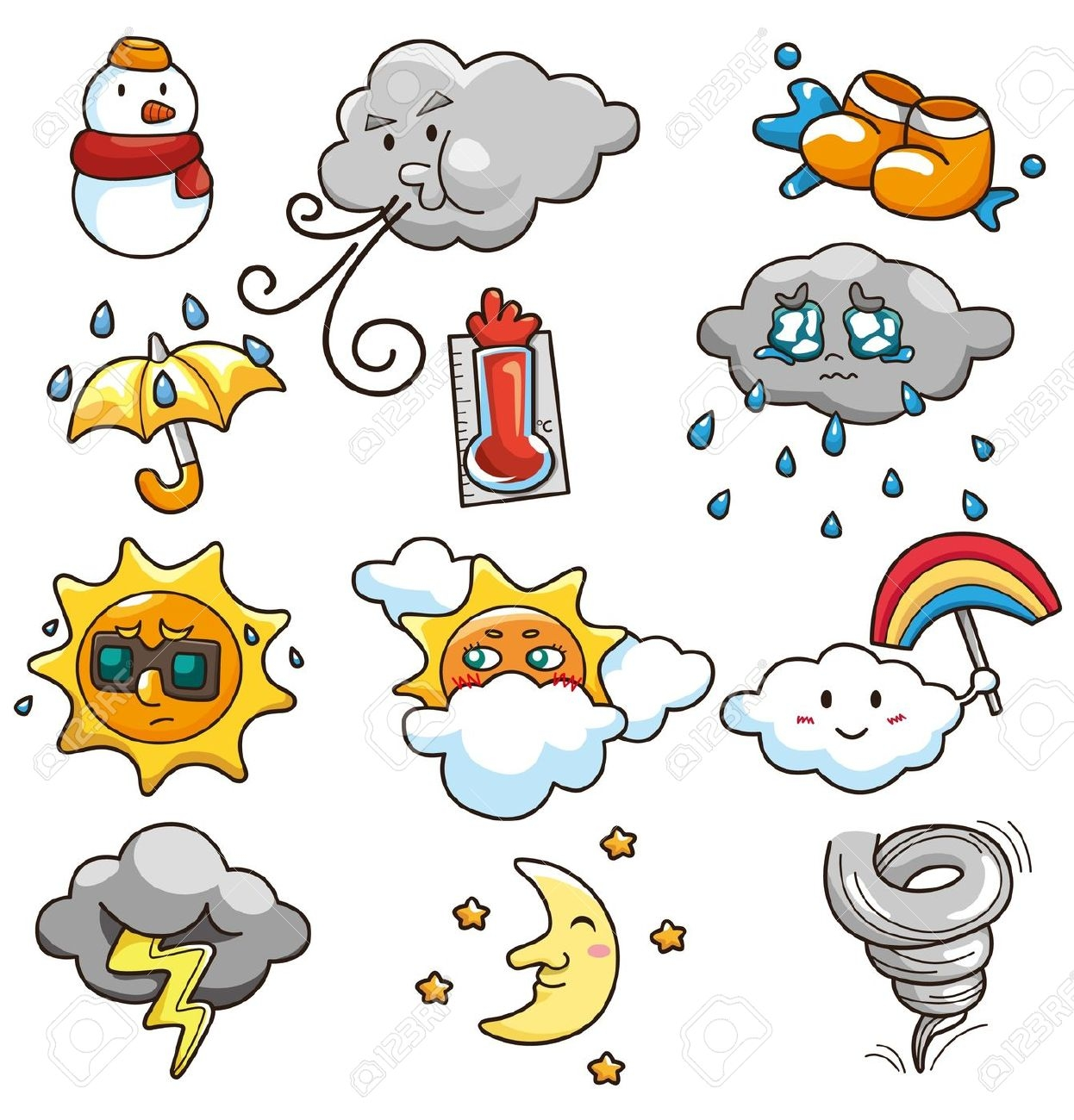 The Weather Clipart.