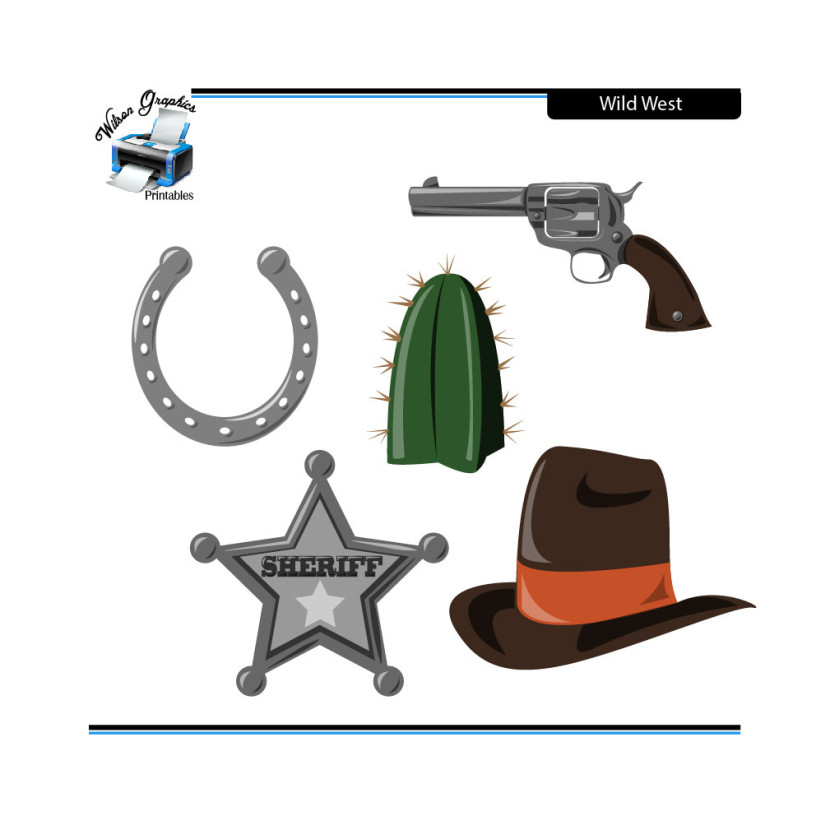 Western Clipart.