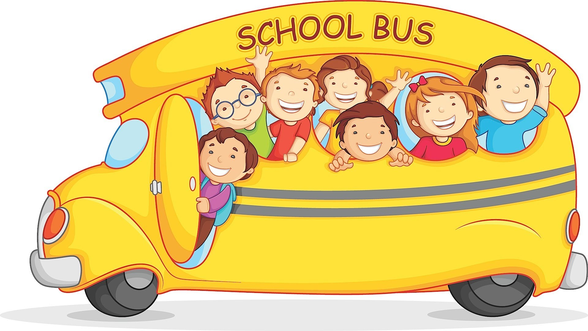 The Wheels On The Bus Clipart.