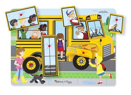 The Wheels on the Bus Sound Puzzle.