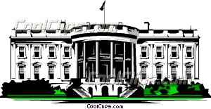 White house free clipart.
