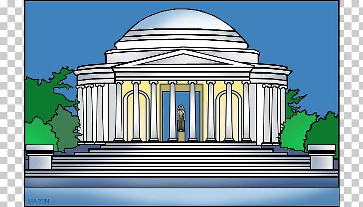 Lincoln Memorial White House Thomas Jefferson Memorial.
