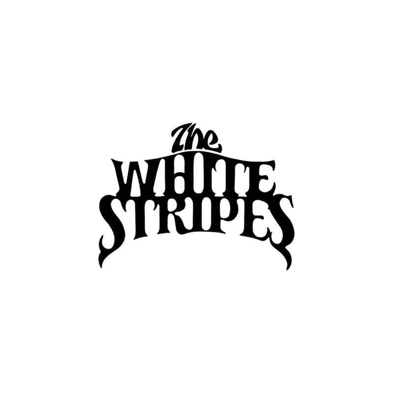 Rock Band s The White Stripes Vinyl Sticker.