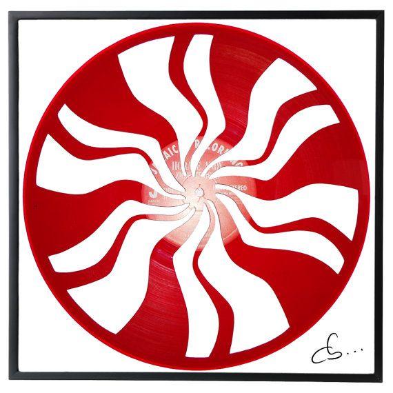 Cb Vinyl Record Art Handmade Vinyl Record Art.