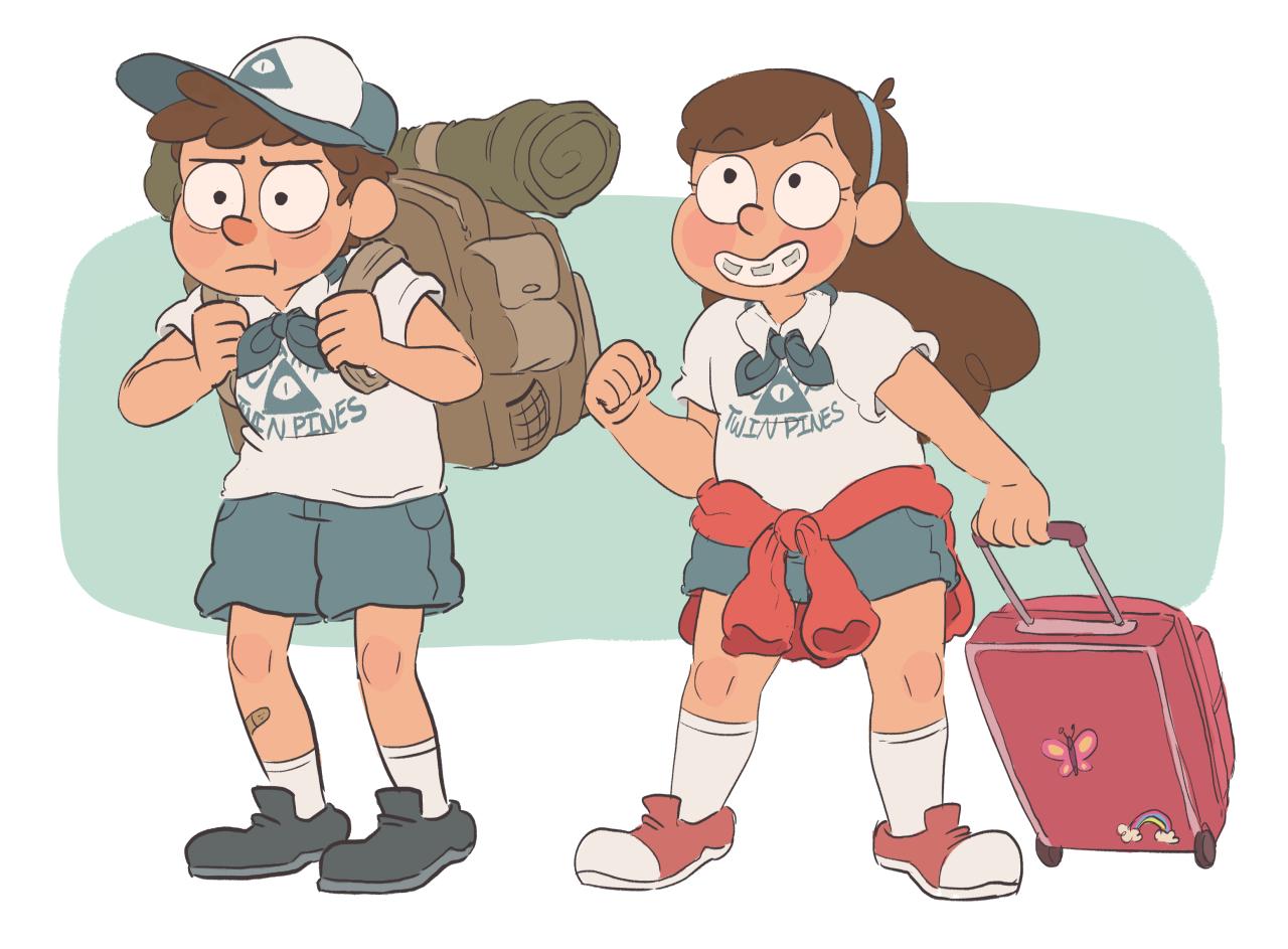 Summer camp clipart.