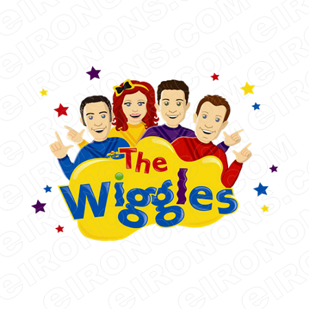 THE WIGGLES LOGO CHARACTER CLIPART PNG IMAGE SCRAPBOOK INSTANT DOWNLOAD  #CTW8.