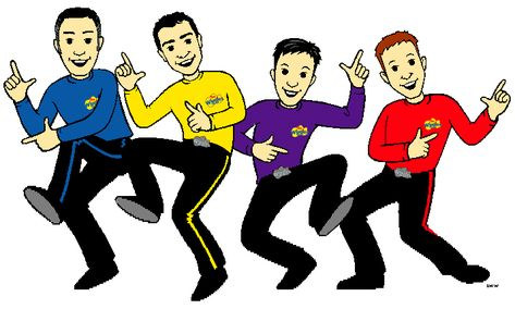 free the wiggles clip art.