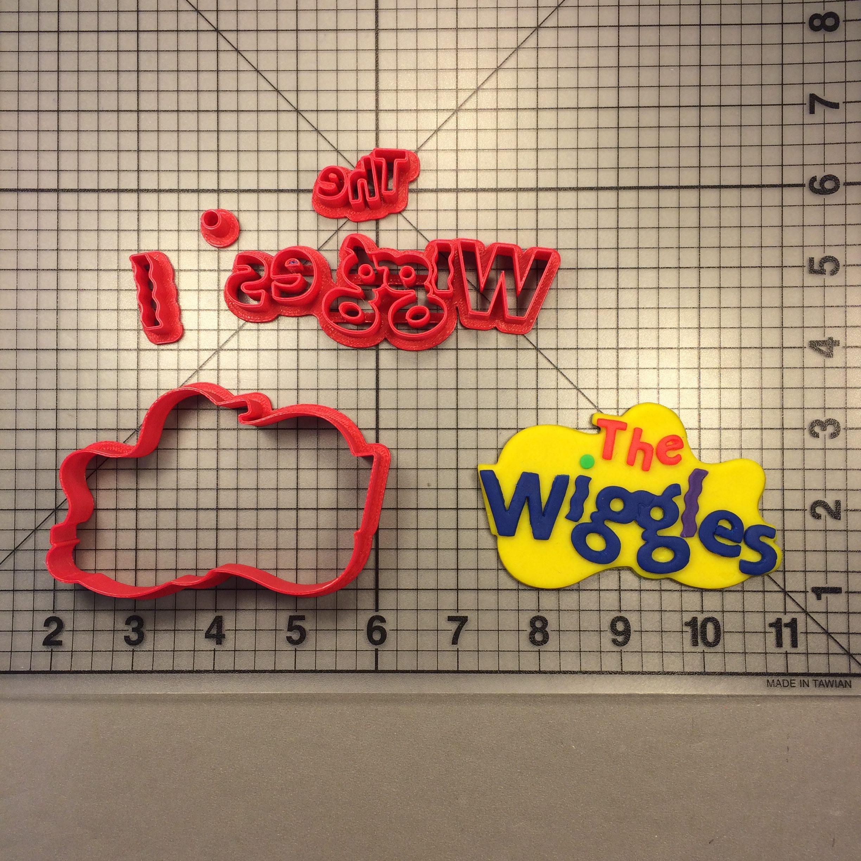 Wiggles Logo 100 Cookie Cutter Set.
