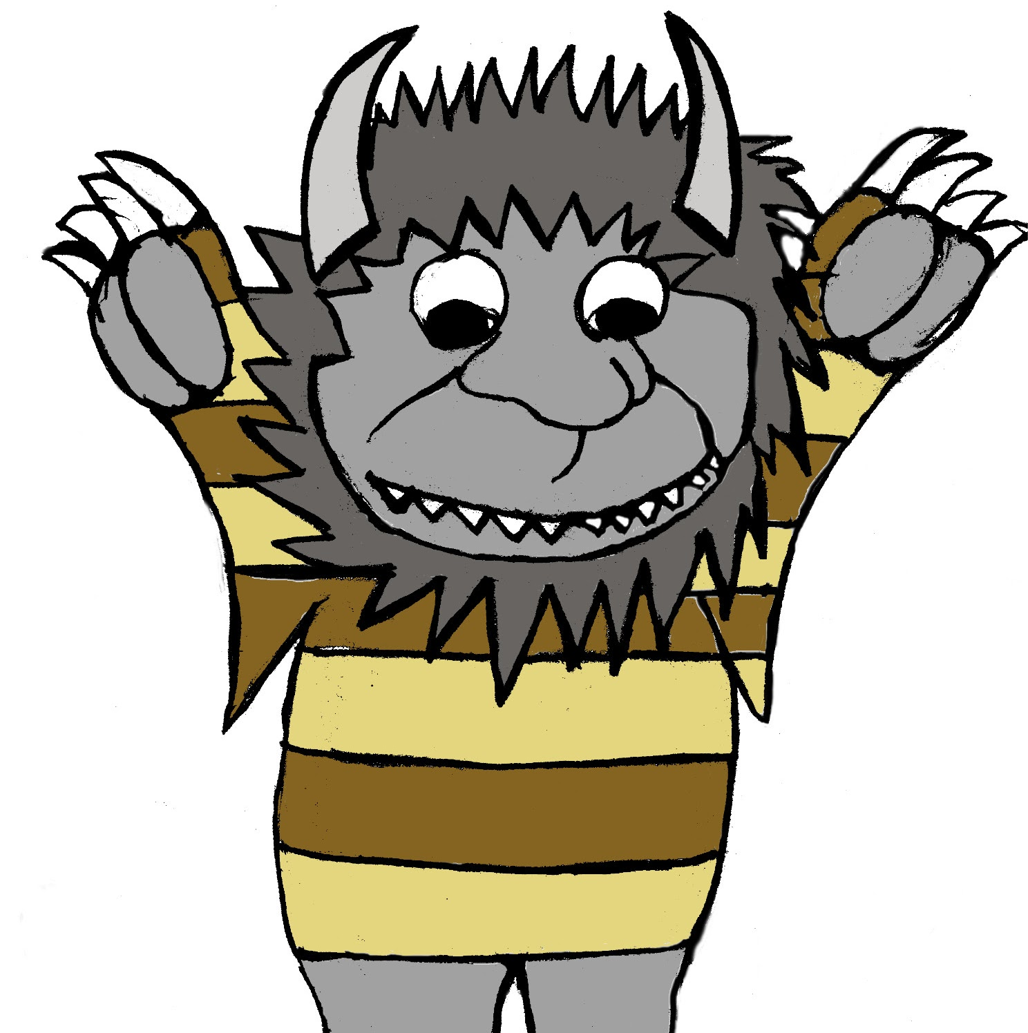 Where The Wild Things Are Clip Art.