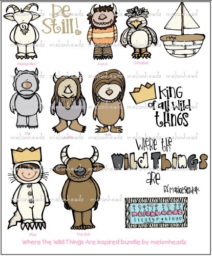 17 Best images about Where the Wild Things Are on Pinterest.