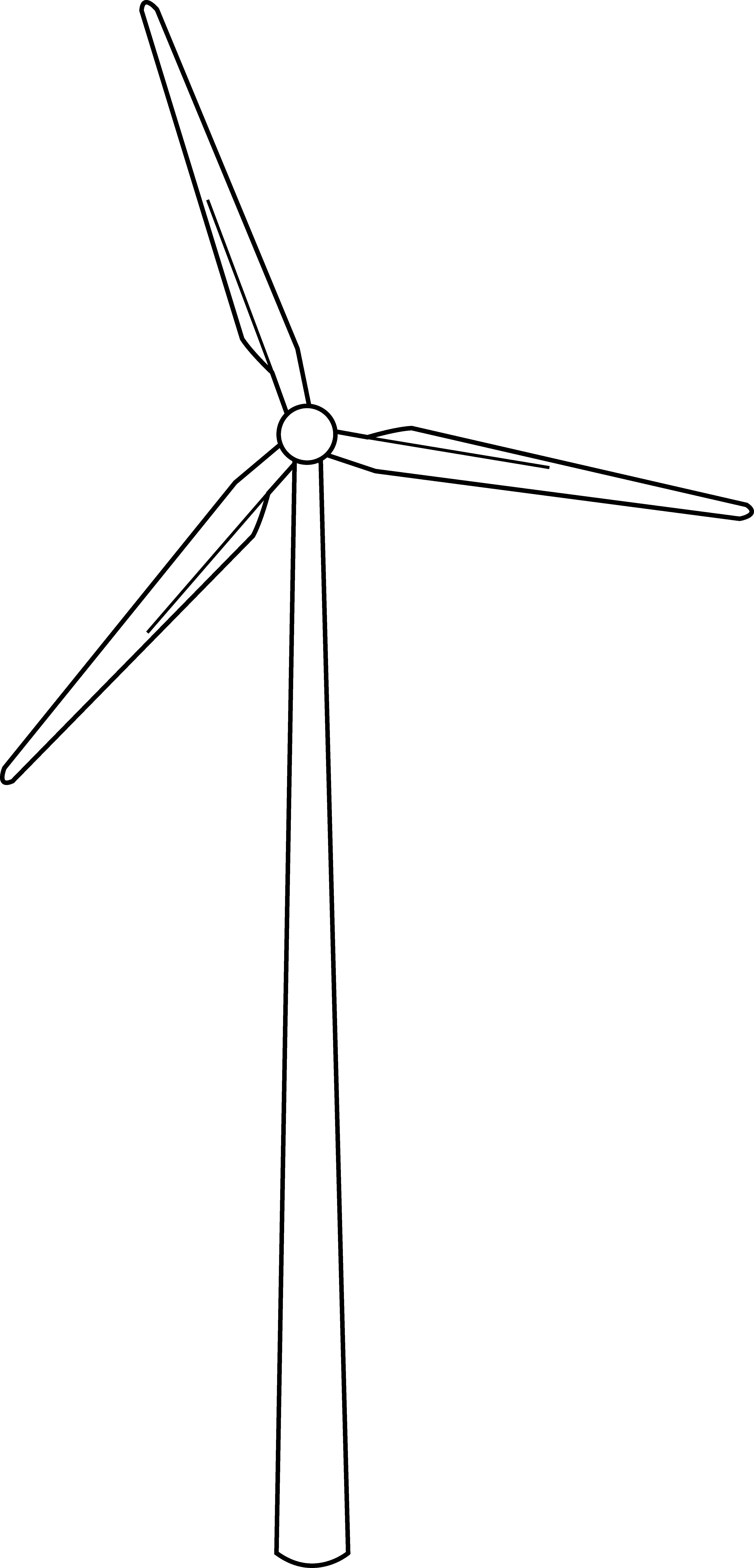 Windmills Clip Art.