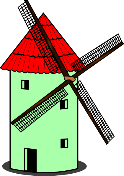 The windmills clipart - Clipground