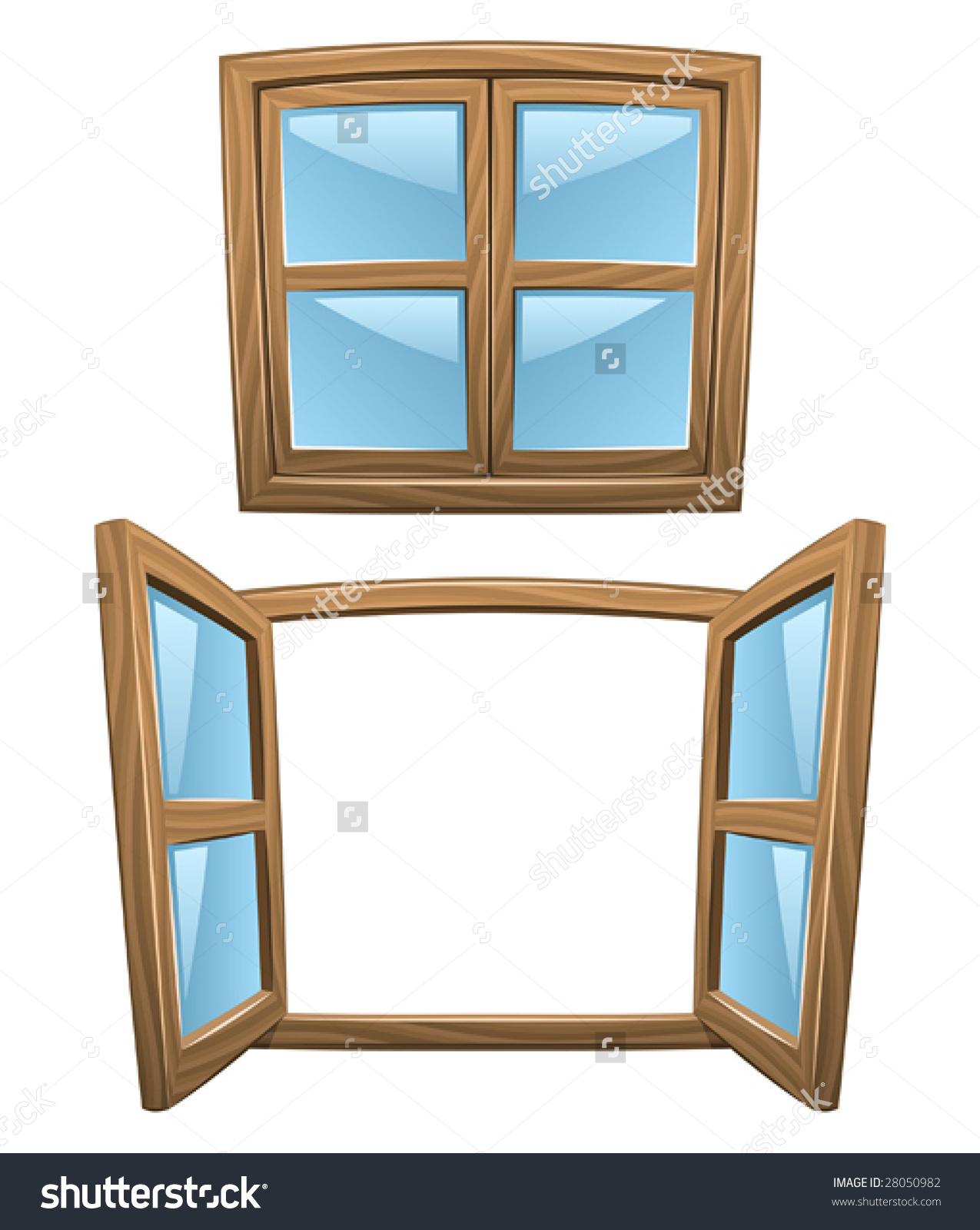 close the window clipart - Window Clip Frame