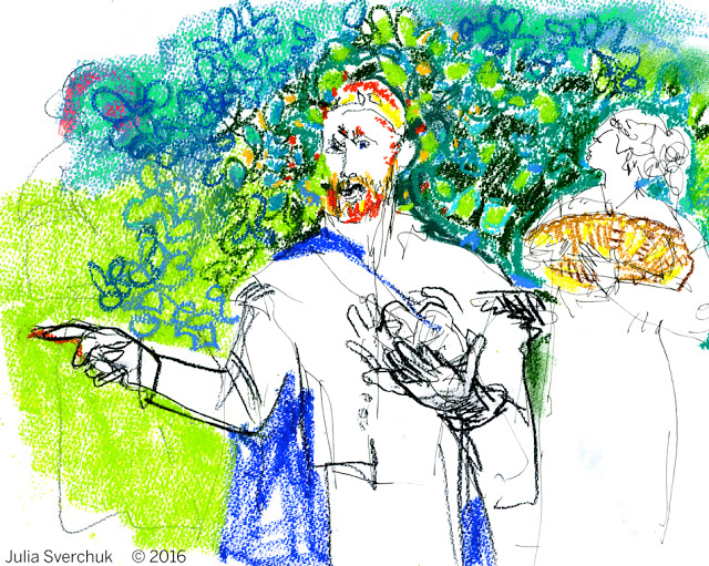 """iDrawing: """"The Winter's Tale"""" by New York Classical Theatre."""