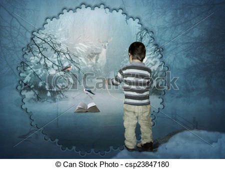 Stock Illustration of The Winter's Tale.