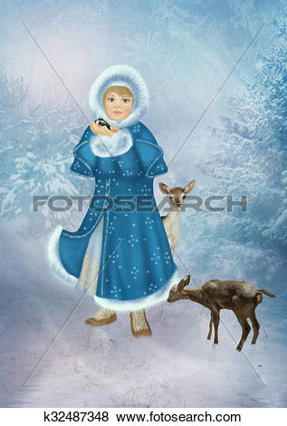 Stock Illustration of The Winter's Tale k32487348.