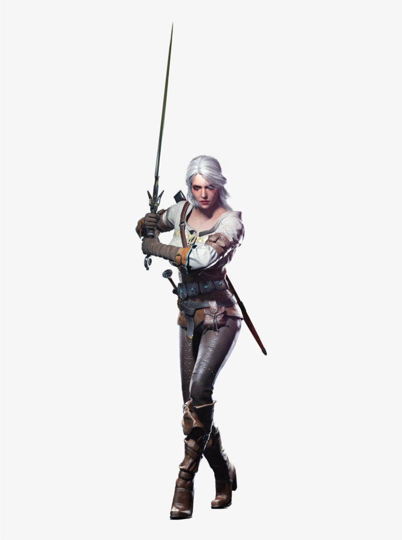 Ciri The Witcher 3 Png.