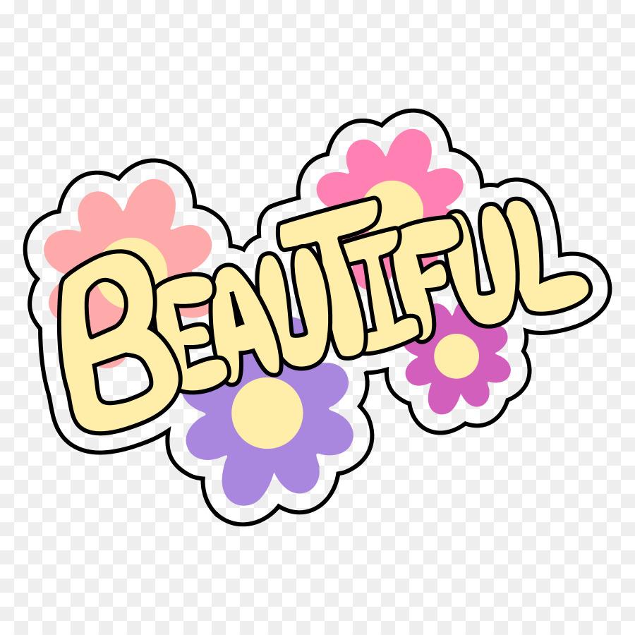 Beautiful clipart pretty word, Beautiful pretty word.