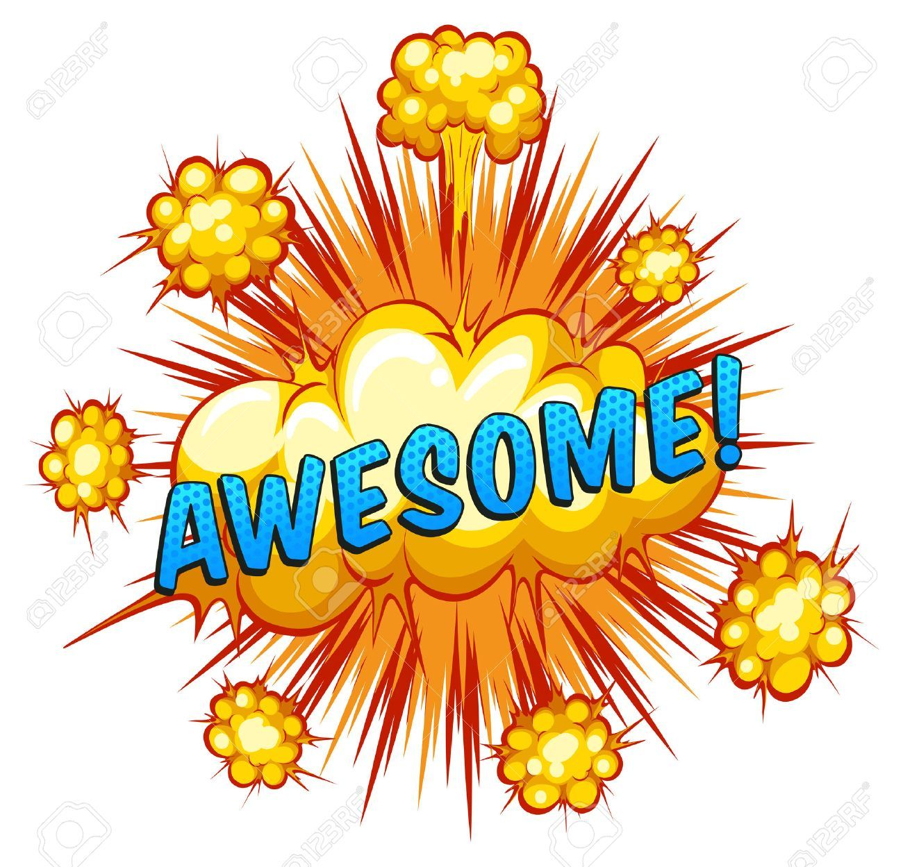 The word awesome clipart 8 » Clipart Portal.