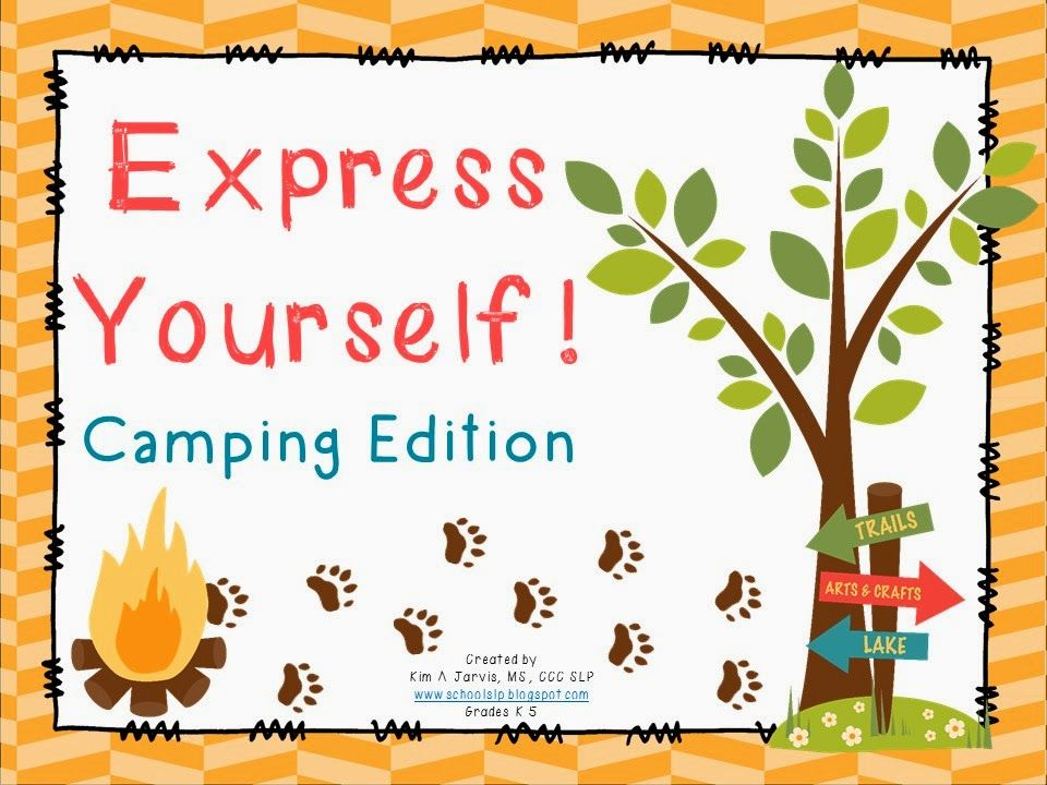 Express Yourself!: Camping Edition ~ Compare/Contrast.