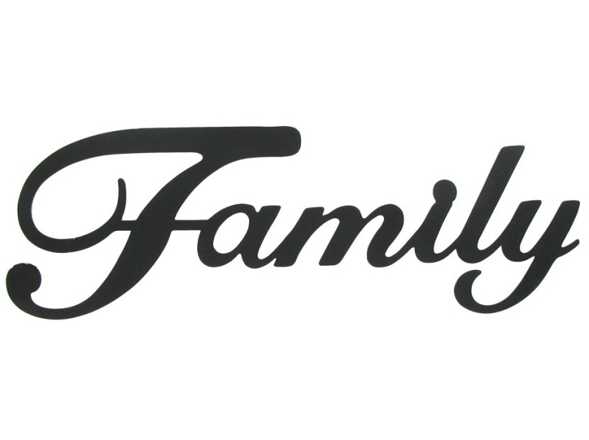 Best Family Word Clipart #28459.