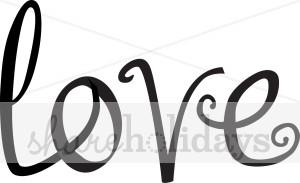 Word Art Love.