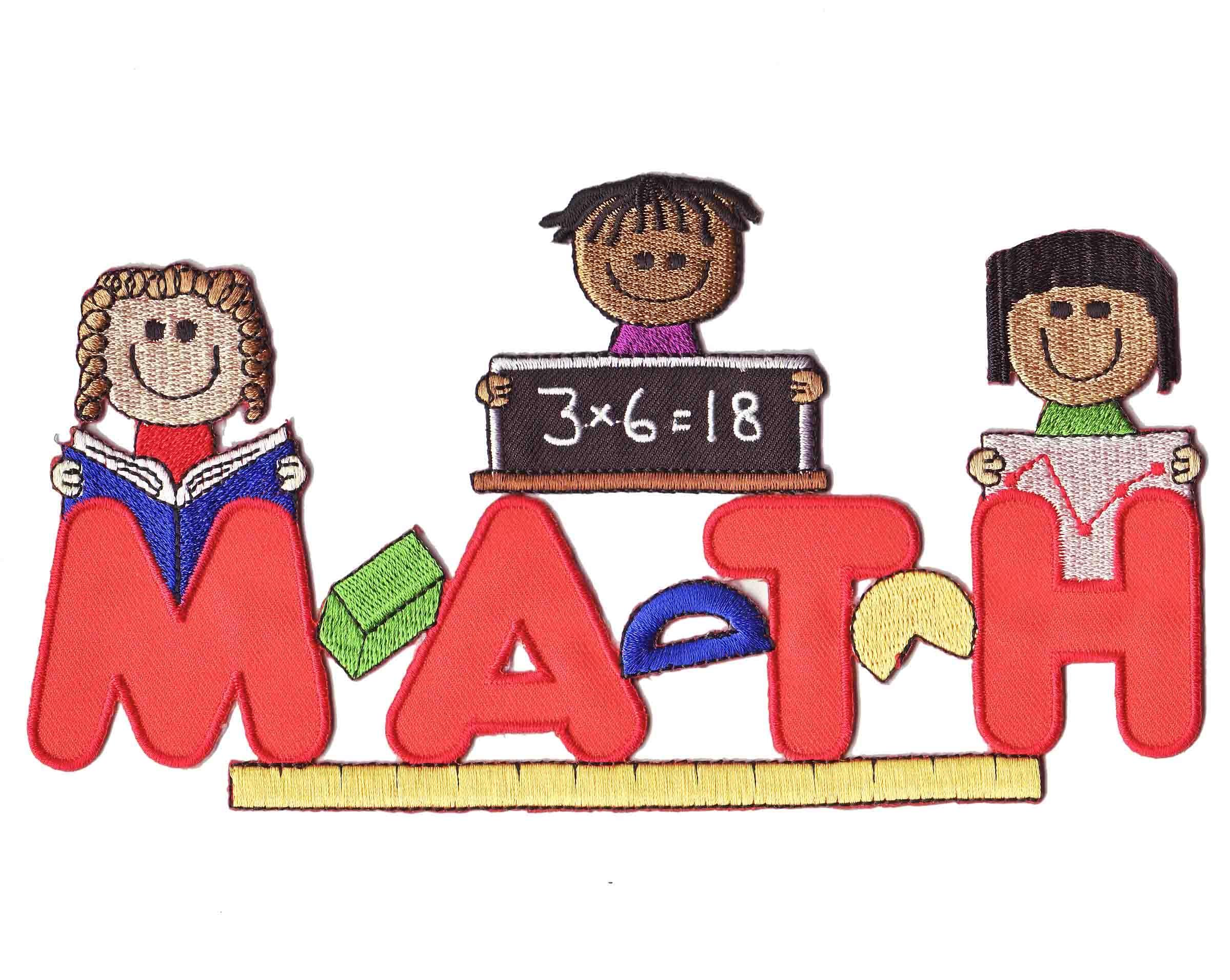 Math Word Cliparts.