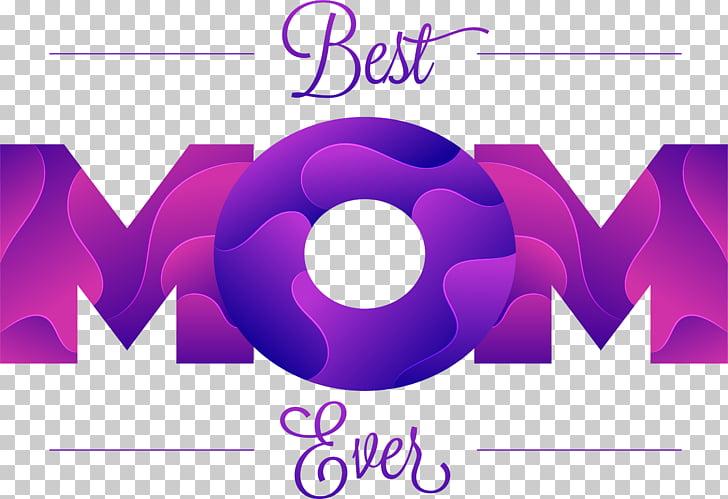 Mother Microsoft Word Application software, Purple Art Word.