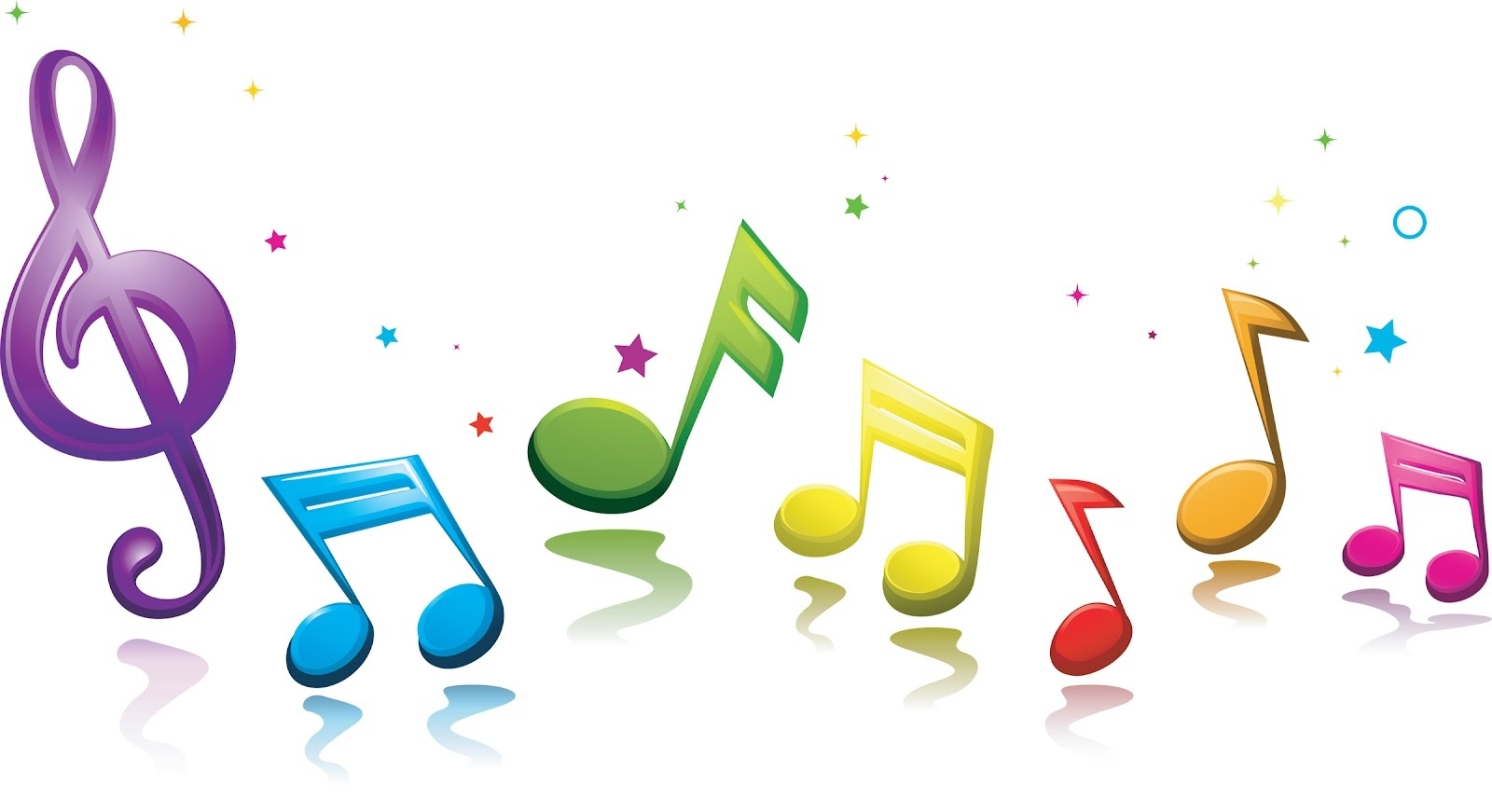 The Word Music Clipart.
