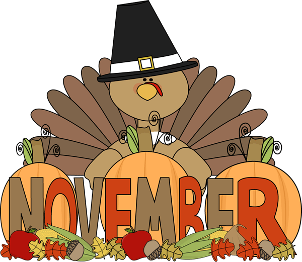 The word november clipart 4 » Clipart Portal.