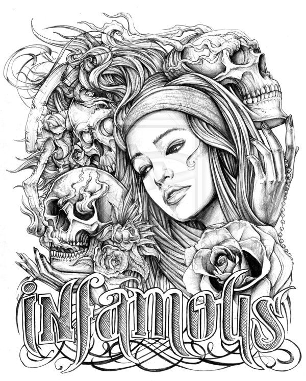 28+ Collection Of Gangster Love Coloring Pages.