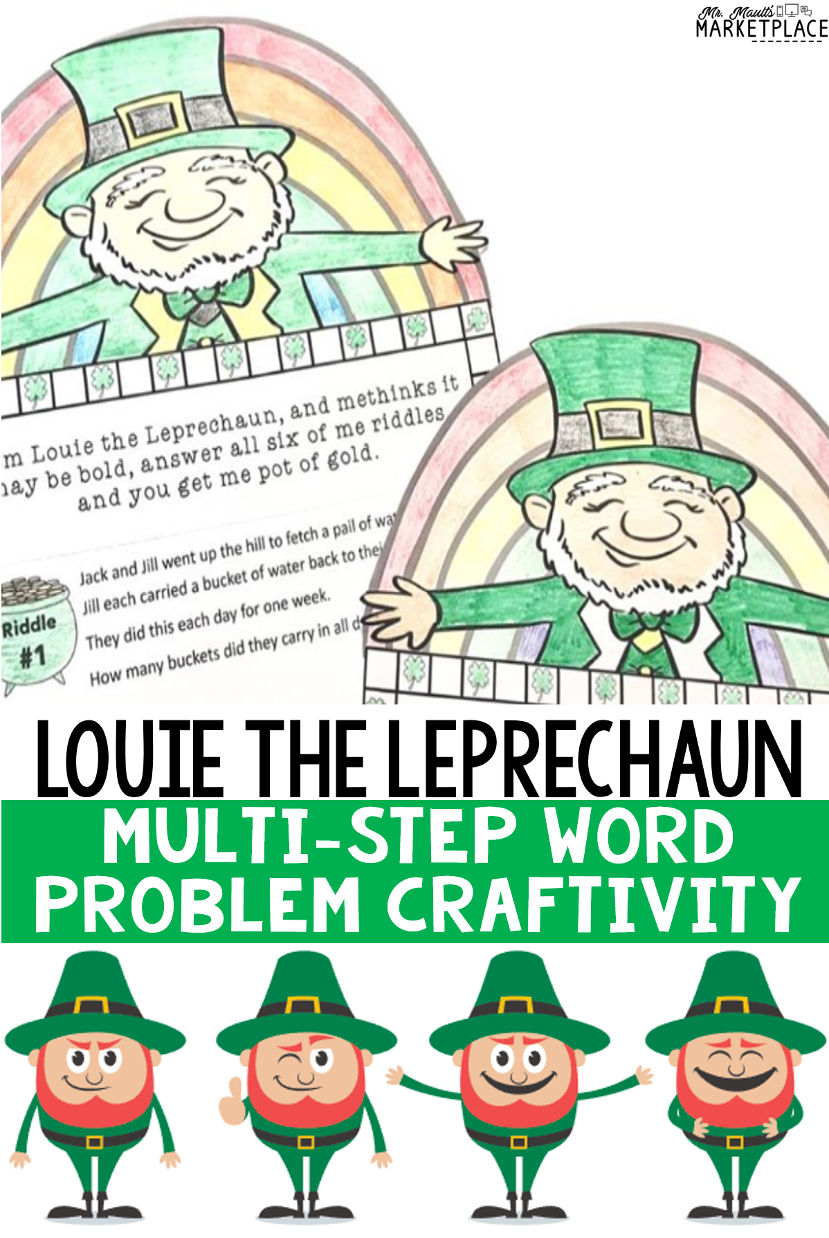 St. Patrick\'s Day Math: Multi.