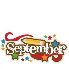 11 Best September Clipart.